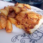 recette Brick a la purée de pomme de terre chorizo et oeuf