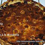 recette Tarte à la mirabelle
