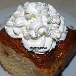 recette Gâteau aux abricots et au caramel