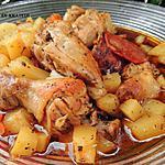 recette Poulet chorizo en papillote aux épices
