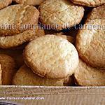 recette Sablés au gingembre