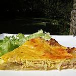 recette Tarte au thon , poireaux et curry