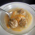 recette Soupe au boulettes