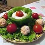 recette Défi boulettes 1 - boulettes de crabe