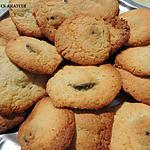 recette Biscuits aux croquants de myrtilles