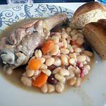 recette Cassoulet au manchons de canard