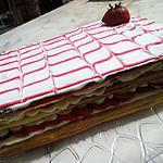 recette Mon Mille-feuille aux fraises