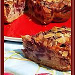 recette Gâteau à l'Amande et Cerises