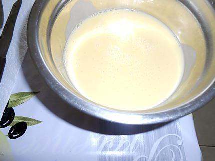 Fraises en neige crème anglaise 430