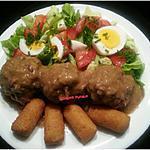 recette Boulets sauce lapin (sauce liégeoise)