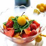 recette Fruits à la saveur Noilly Prat