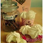 recette Meringuette aromatisée à la rose et à la canelle