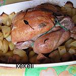 recette Poulet rôti à la sauge