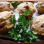 recette Muffins poulet-paprika et coque de Comté.