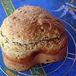 recette Petit pain au lait 5 céréales - sans oeuf sans levure de boulanger sans matière grasse ajoutée