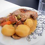 recette Cuisses de canard au chorizo vin blanc