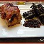 recette Roulés de Dinde à la Compotée d'Echalotes au Miel