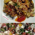 recette Cuisine des restes avec des oeufs