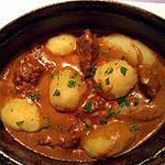 recette Mijoté de veau au paprika et à la ciboulette