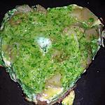recette Tortillas ail & fines herbes - plat complet équilibré- sans gluten & sans lait
