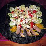 recette assiette reste de magret de canard