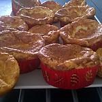 recette petits soufflés jambon gruyère