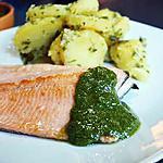 recette Truite saumonée au pesto