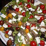 recette Salade composée a la feta