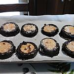 recette BISCUITS AMANDES - CHOCOLAT