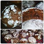 recette Crinkles au chocolat noir