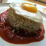 recette Arroz a la cubana (riz à la cubaine)