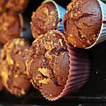 recette Muffins choco-café à la rapadura