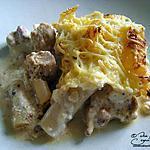 Gratin de poulet aux salsifis et mascarpone