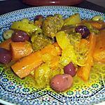 Tajine de Boeuf aux Carottes et aux Olives