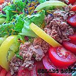 recette Avec cette chaleur…une salade estivale s'impose!!!! (WW)