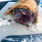 recette Rôtis de bœuf au bleue en croûte
