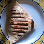 recette Quesadillas poulet et fromage