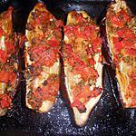 recette Aubergines en salsa de tomates