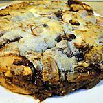 recette Gâteau viennois aux pommes et à la crème aigre