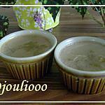 recette Petites crèmes légères au thé vert!