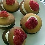 recette whoopies chantilly fraise