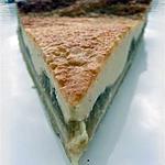 recette Tarte au mascarpone & à la compote