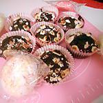 recette Muffin cacao-meringue