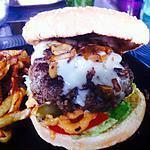 recette Hamburger maison au gorgonzola et compoté d'oignon