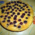 recette Flan pâtissier aux cerises