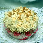 recette cupcake au speculoos coeur de framboise