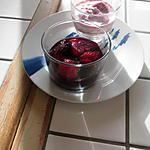 recette fraises  au vin de grélinette  et cassolettes