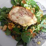 recette Salade au poulet roulé Rôtis farci