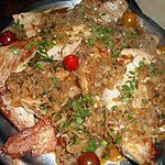 recette Grillades de porc aux échalotes