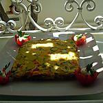 recette omlette carrée de courgettes